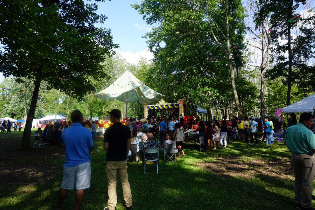 Festival Site at Wat Pa Lao Buddhadham in Henrietta, New York