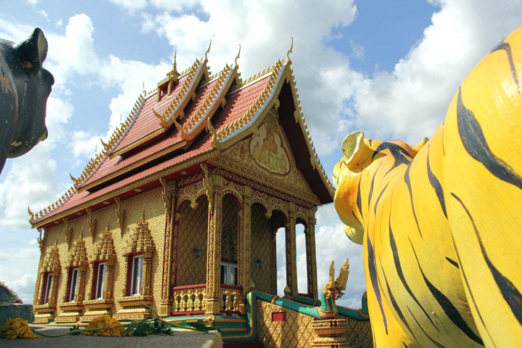 The Wat Pa Lao Buddhadham in Henrietta, New York