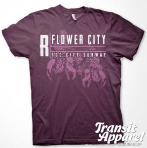 Transit Apparel Flower City T-Shirt