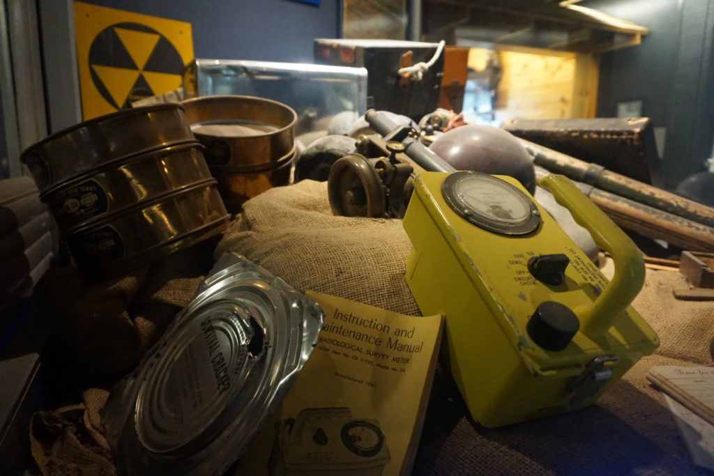 Historical Artifacts Exhibit at the Mt. Morris Dam and Recreational Visitor Center