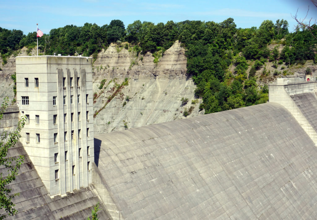 Mt. Morris Dam in Letchworth