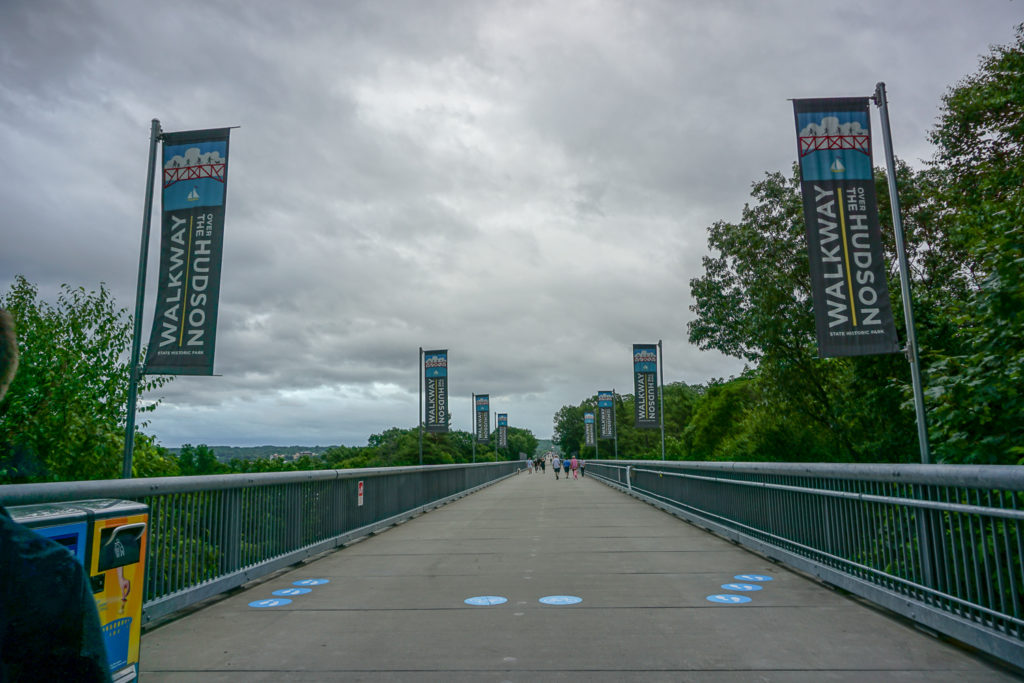 Entrance to Walkway Over the Hudson in Highland, New York