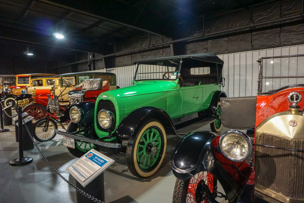 Antique Cars at the Northeast Classic Car Museum in Norwich, New York