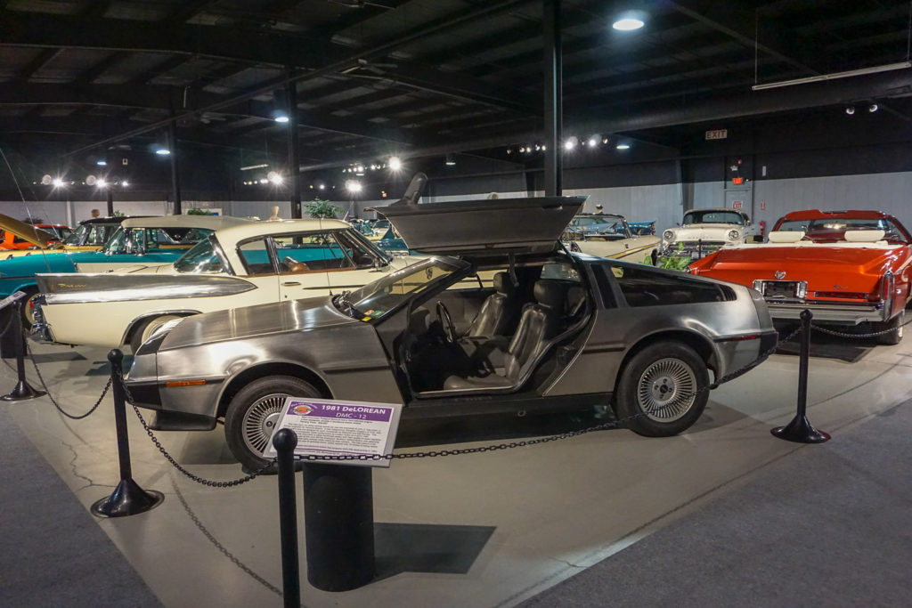 Original DeLorean at the Northeast Classic Car Museum in Norwich, New York