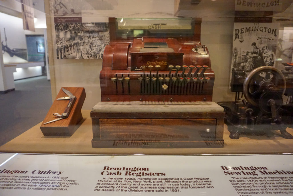 Other Remington Products in Museum in Ilion, New York