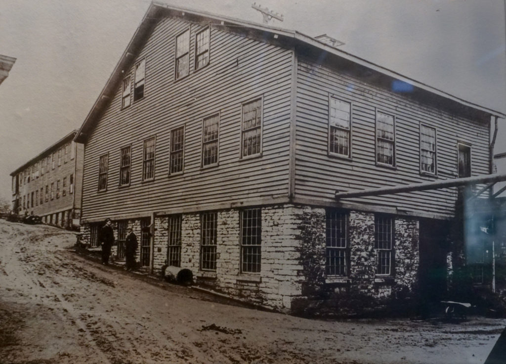 Remington Plant circa 1830's in Ilion, New York