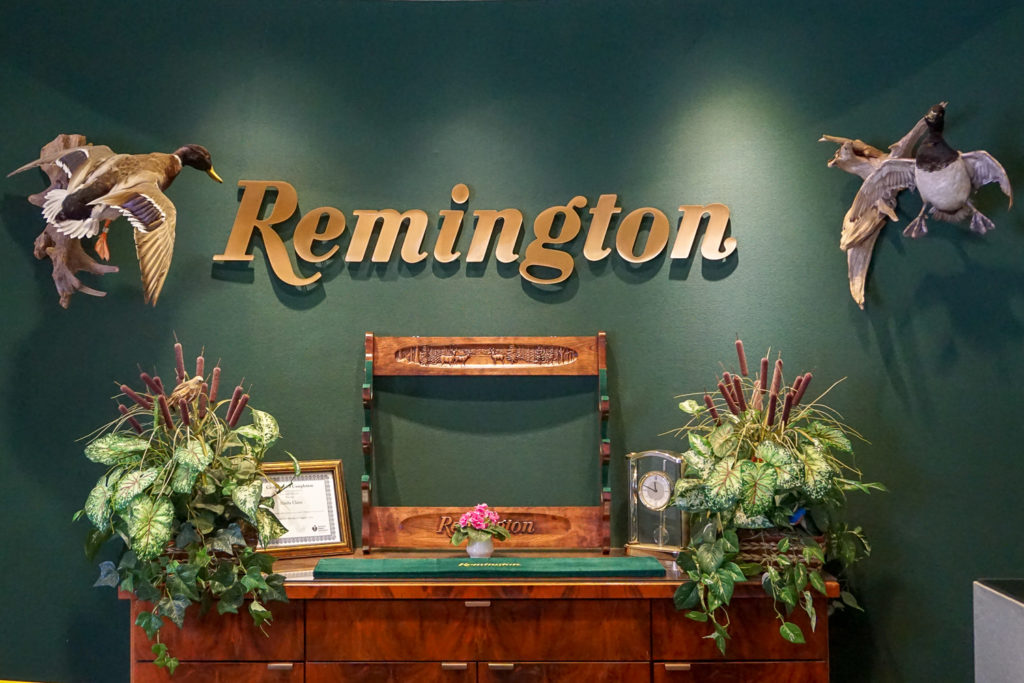 Remington Visitor Welcome Area in Ilion, New York