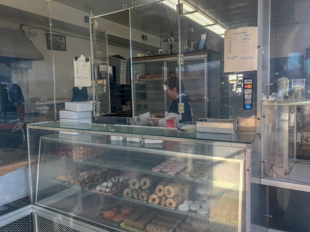 Inside Dutch Girl Donuts in Detroit, Michigan