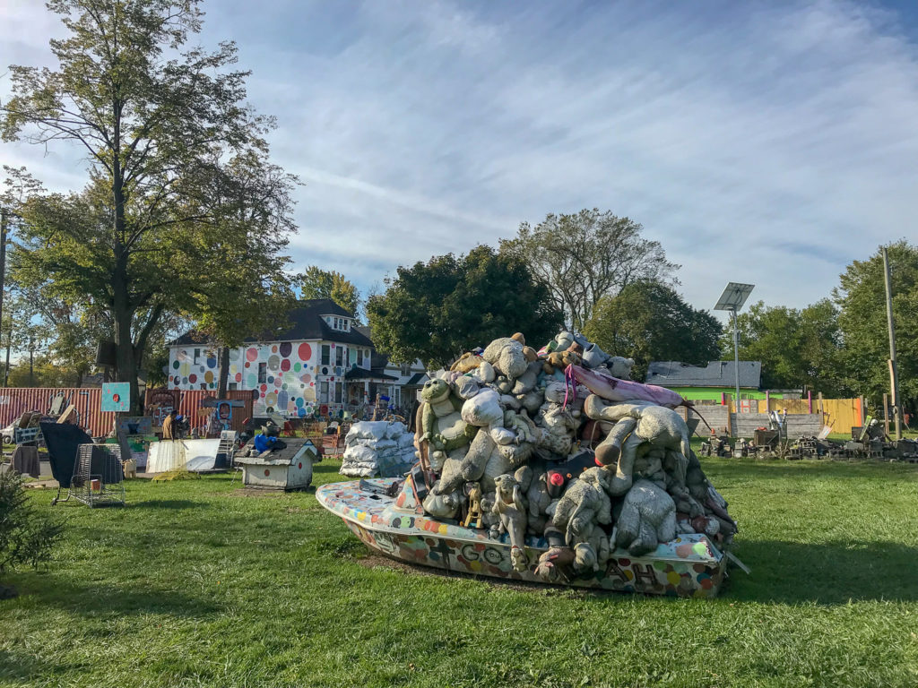 Heidelberg Project in Detroit, Michigan