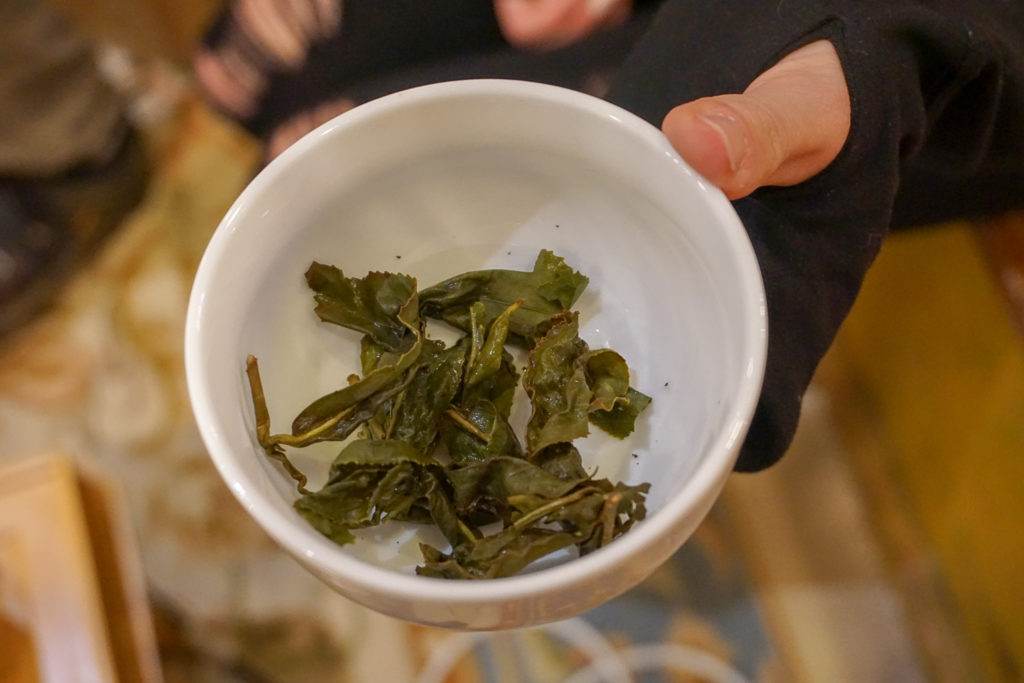 Tea Leaves at the UNYtea Pop-up at Midnight Sun in Syracuse, New York