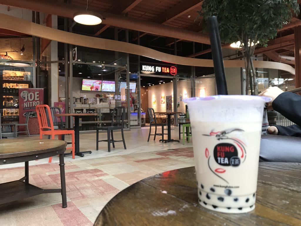 Bubble Milk Tea at Kung Fu in Destiny USA