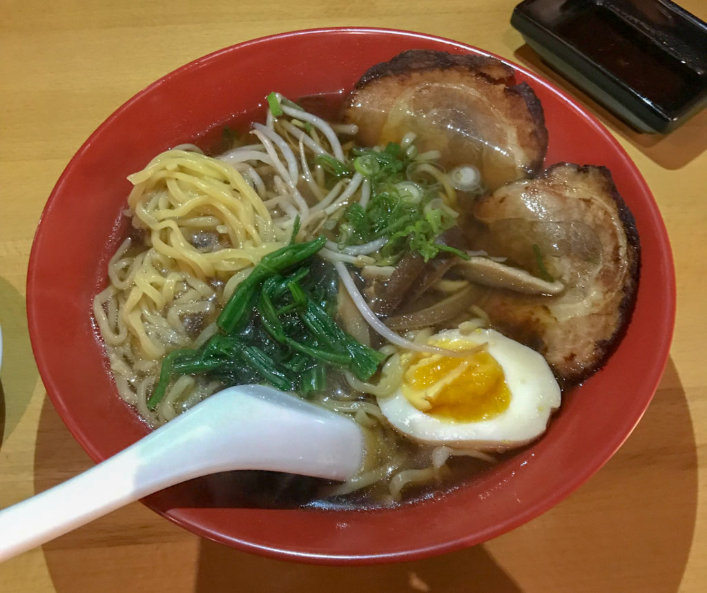 Shoyu Ramen at Shema Sushi in Rochester