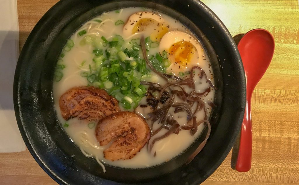 Tankotsu Ramen at Brooklyn Ramen in Rochester