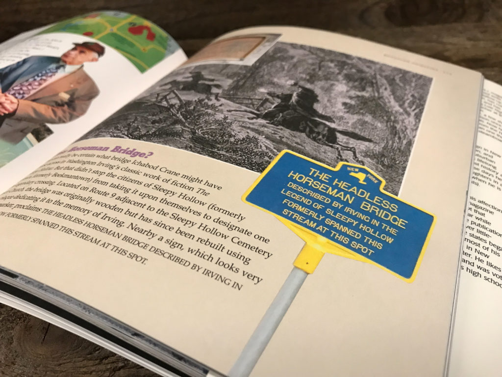 Inside Pages of Weird New York Book