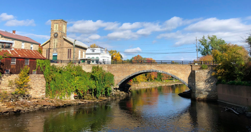 Ausable River in Keeseville, New York