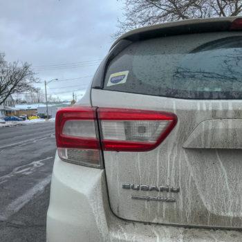 Exploring Upstate Sticker on Subaru