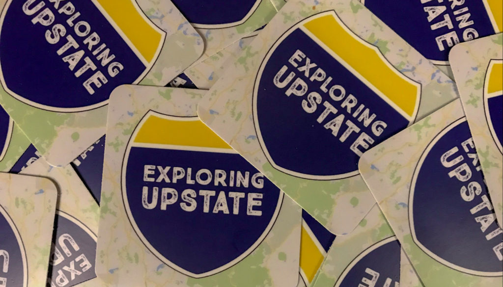 Exploring Upstate Sticker - Featured Image