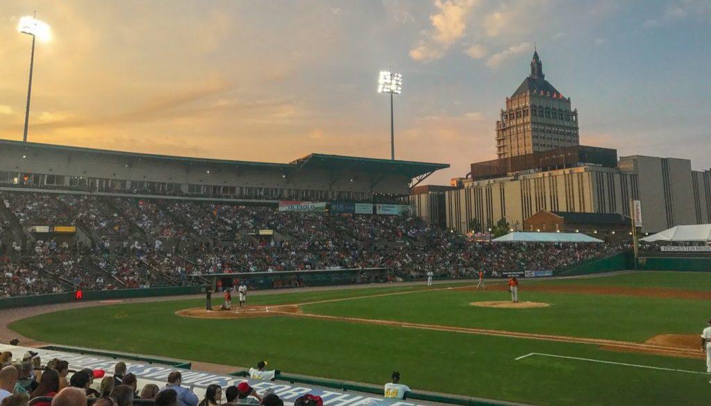 Upstate New York Baseball - Featured Image