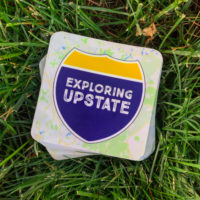 Exploring Upstate Sticker