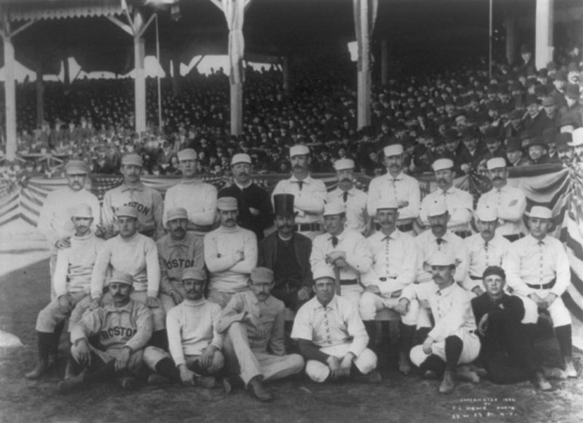 Boston Beaneaters Old Hoss Finger Photo