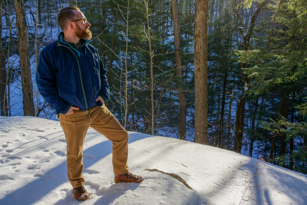 Chris Clemens of Exploring Upstate at Bahar Nature Preserve in Niles, New York Cayuga County