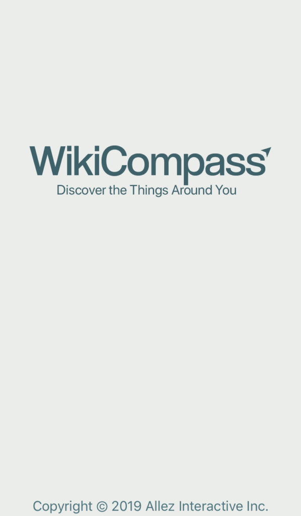 WikiCompass Smartphone App For Travel