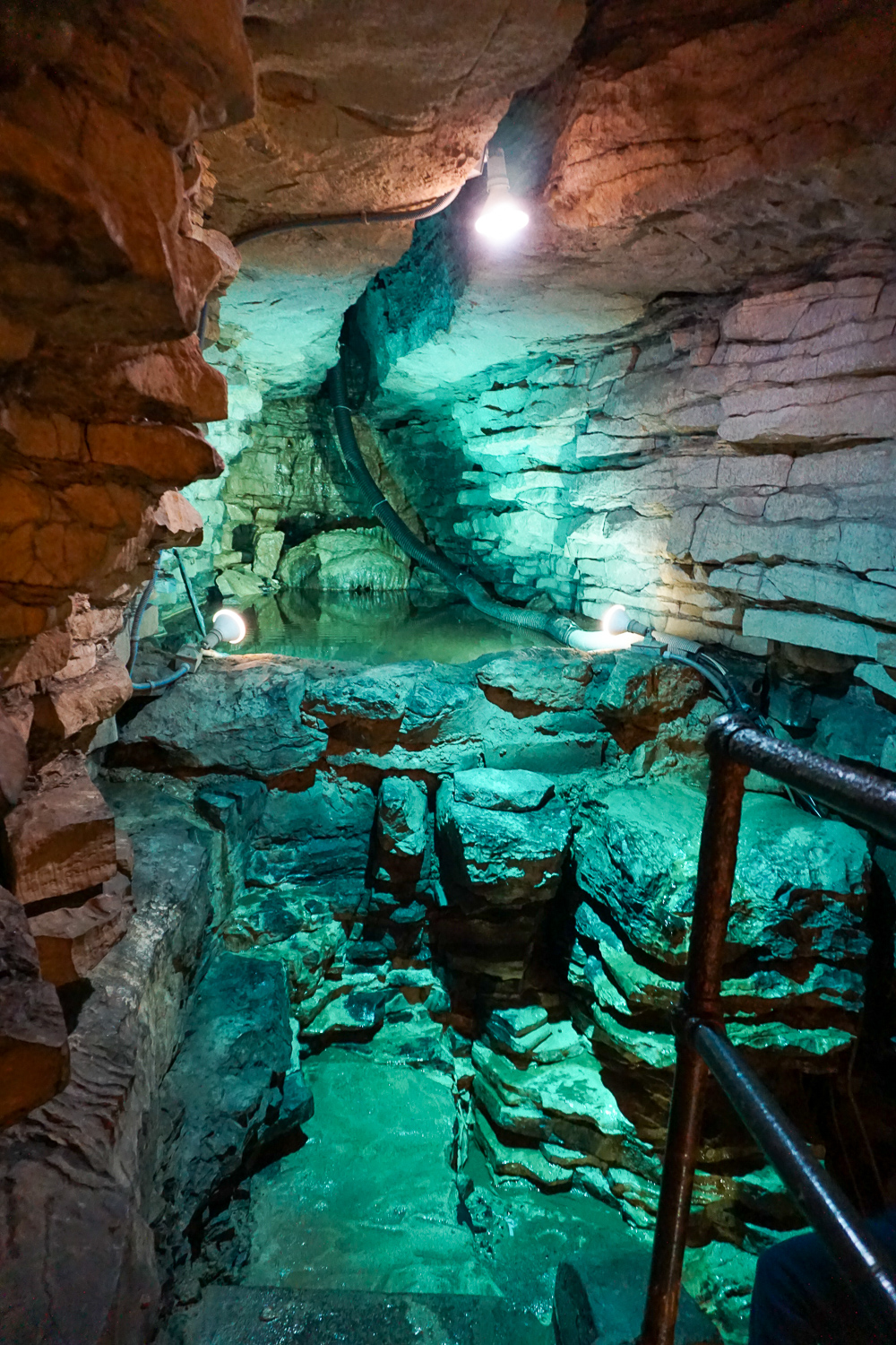 Inside Secret Caverns