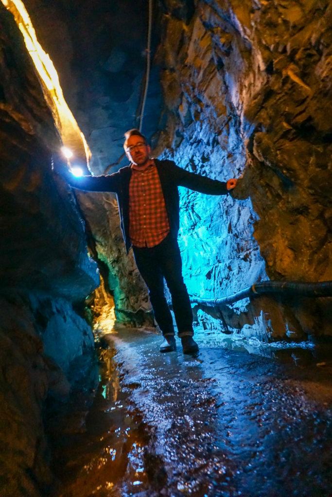 Chris Clemens of Exploring Upstate Inside Secret Caverns
