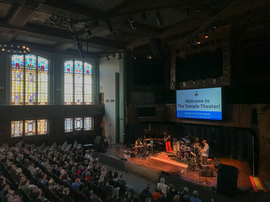 Ozmosys Band During the 19th Rochester International Jazz Fest in the Temple Building