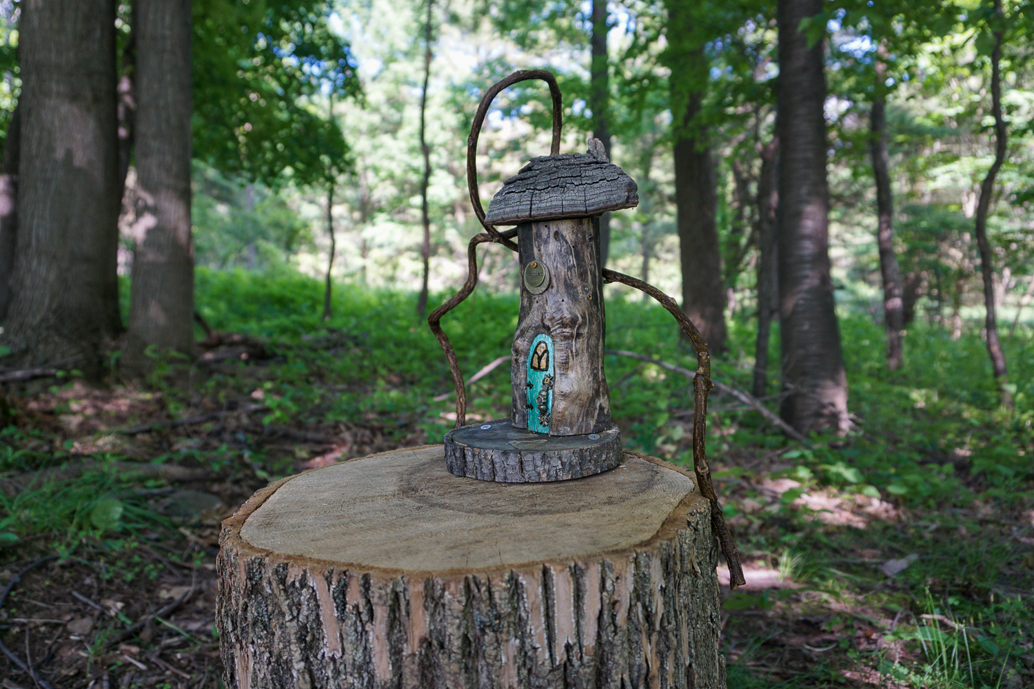 Fairy House on the Birdsong Fairy Trail near Rochester