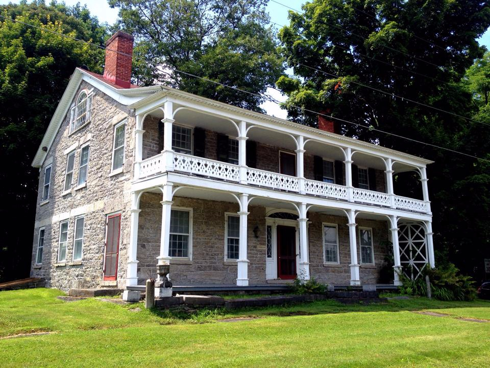 Edmund Wilson's Old Stone House in Talcottville, New York