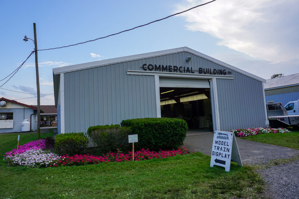 Commercial Building at the Wayne County Fair in Palmyra