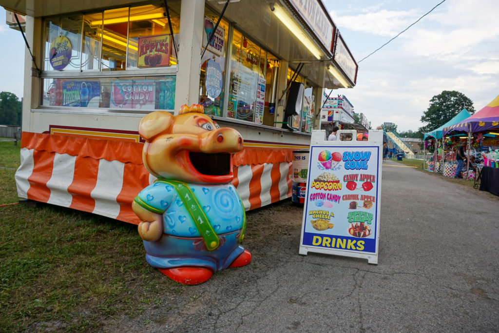 Goofy Garbage Can at the Wayne County Fair in Palmyra