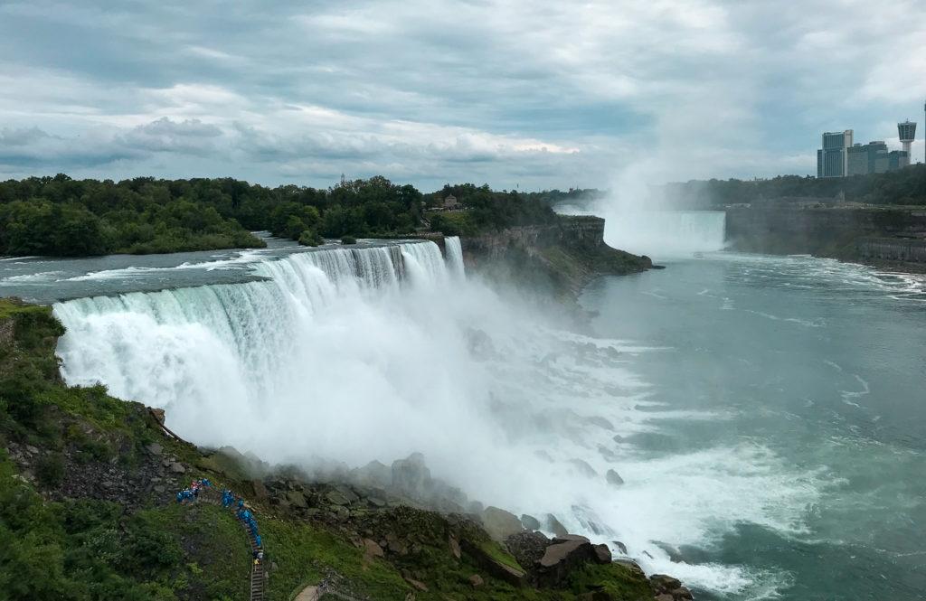 Niagara Falls Including American Falls, Bridal Veil Falls, and Horseshoe Falls