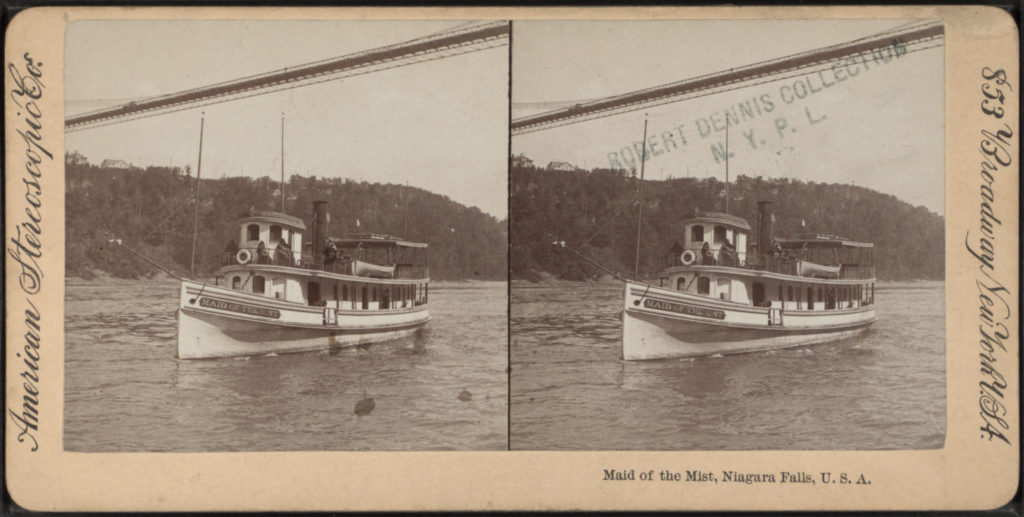 Maid Of the Mist Niagara Falls USA 1896-1901