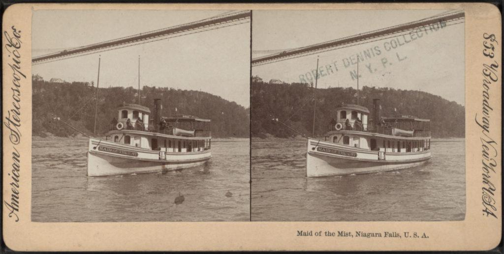 Maid Of the Mist Niagara Falls USA 1896-1901