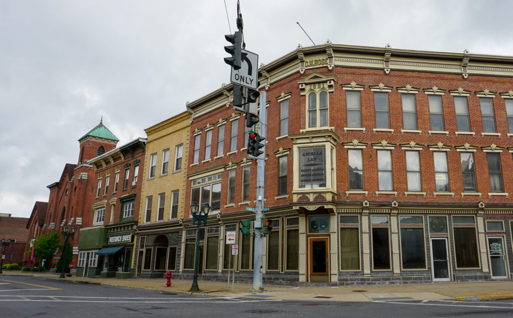 Downtown Gloversville, New York, Fulton County