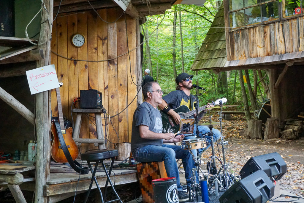The Ampersand Project Plays Sunday Pizza Days at Pollywog Holler in Belmont, New York, Allegany County
