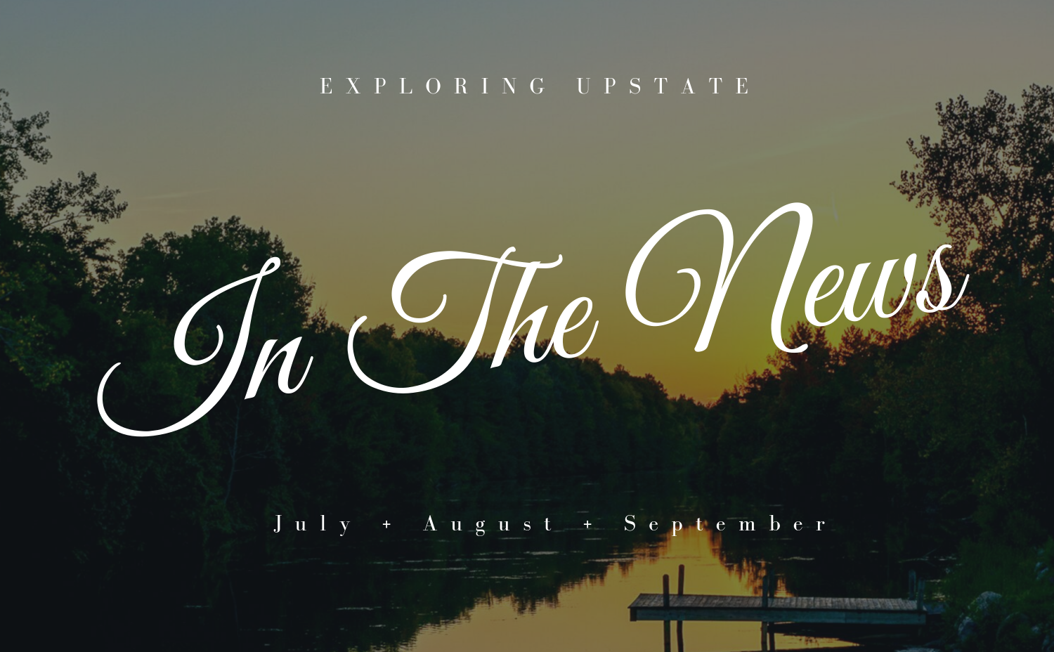 In The News July August September