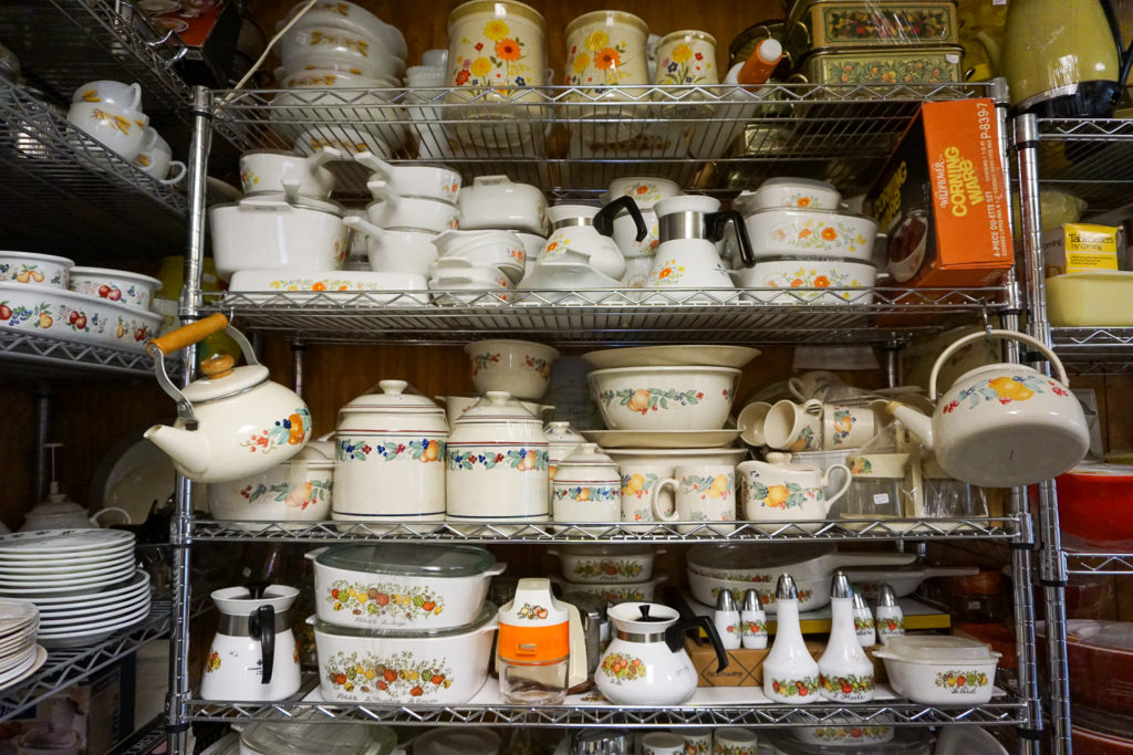 Pyrex and Corningware Collection in Angelica