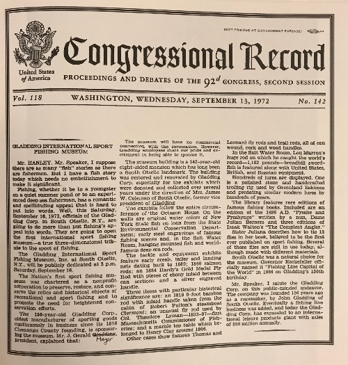 Congressional-Record-for-Gladding-International-Sport-Fishing-Museum