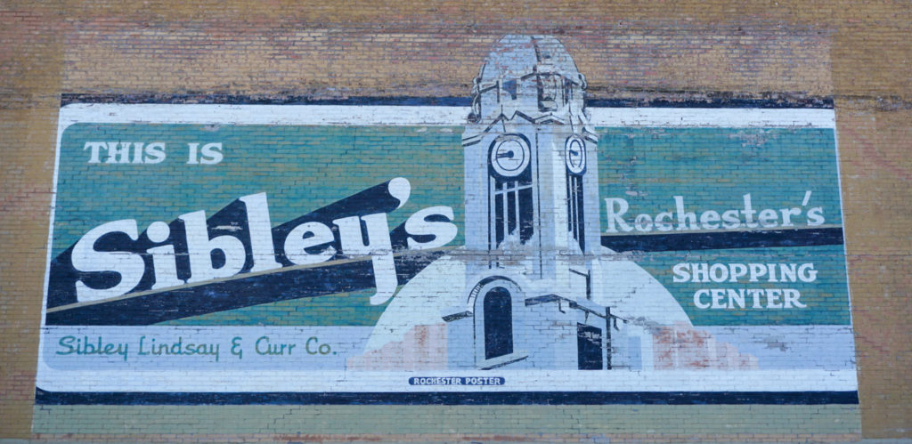 Sibley's Mural in Rochester, NY