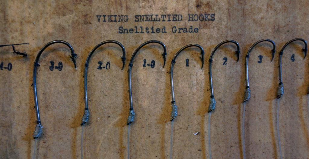 Fishing Hooks Collection Inside the Salmon Run International Sport Fishing Museum and Visitor Center Near Pulaski, New York