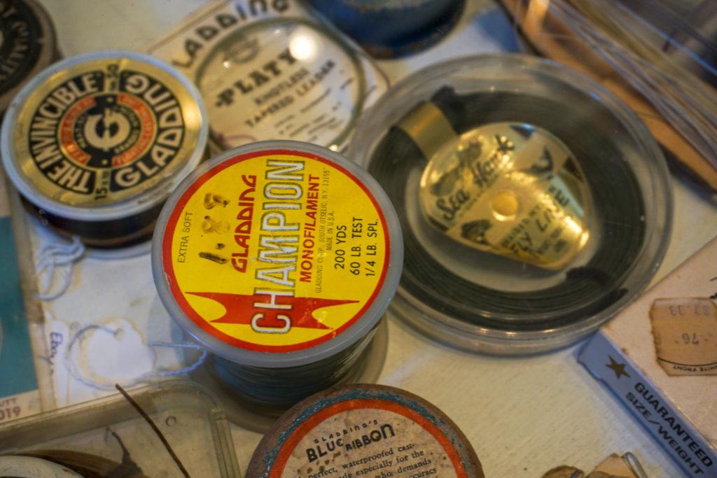 Gladding Artifacts in the Salmon River International Sport Fishing Museum near Pulaski