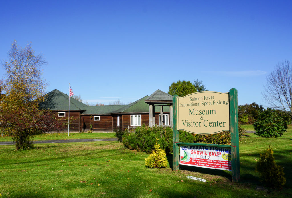 Salmon River International Sport Fishing Museum and Visitor Center near Pulaski