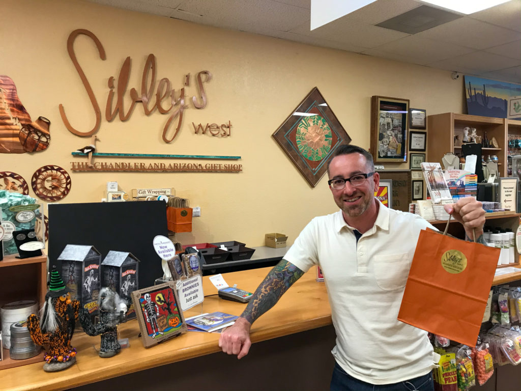 Chris Clemens at Sibley's West in Chandler, Arizona