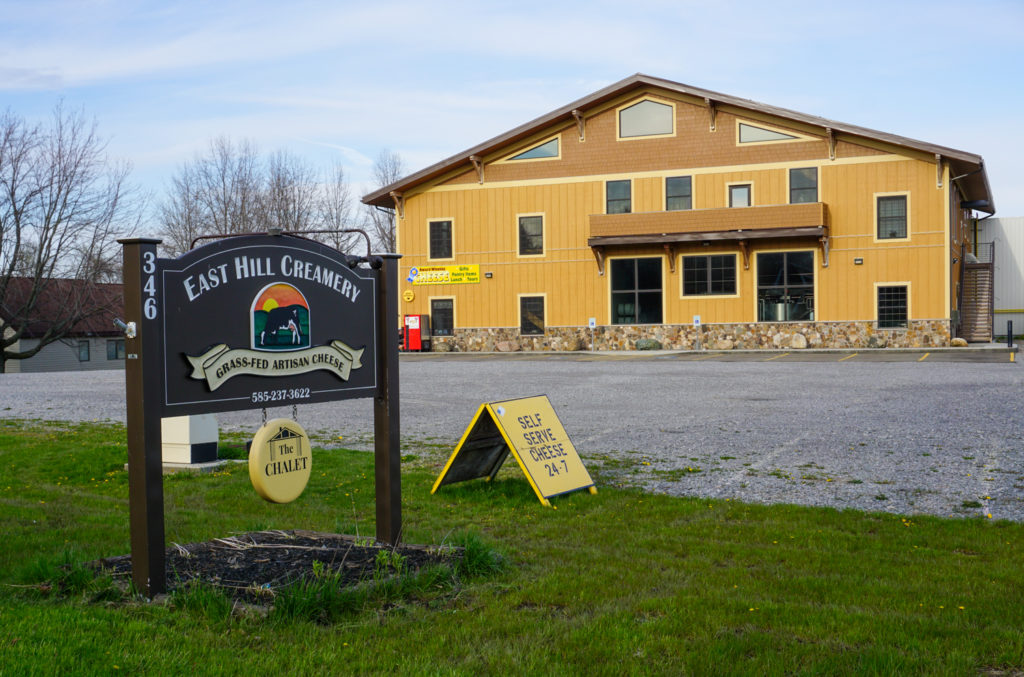 East Hill Creamery in Perry, New York, Wyoming County