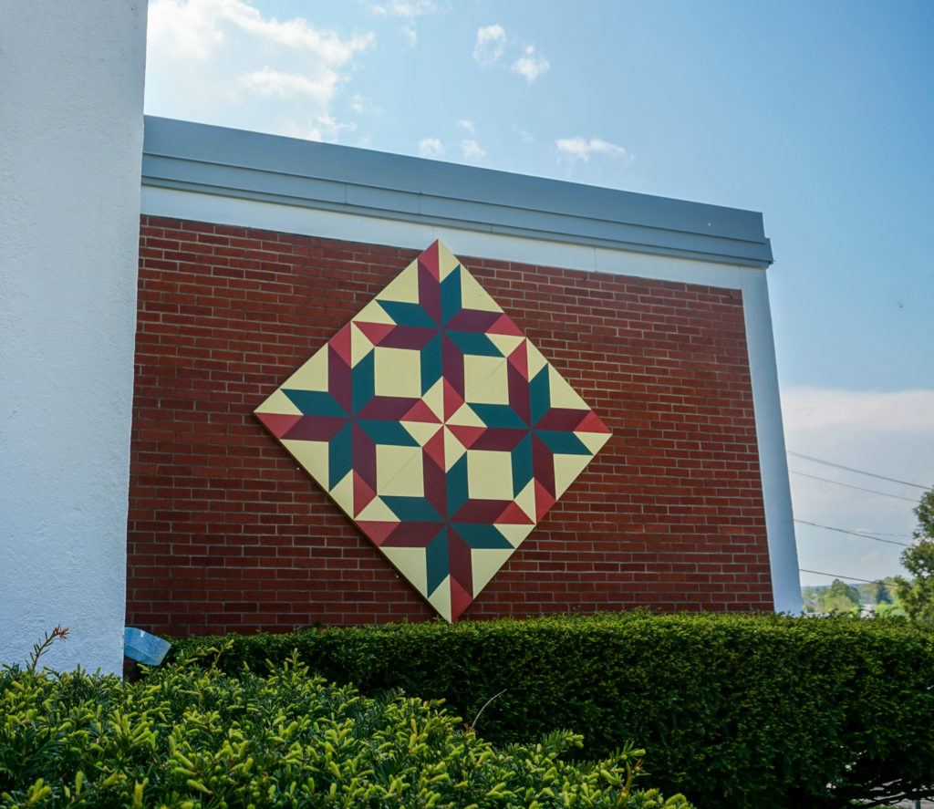 Barn Quilt in Johnstown, New York