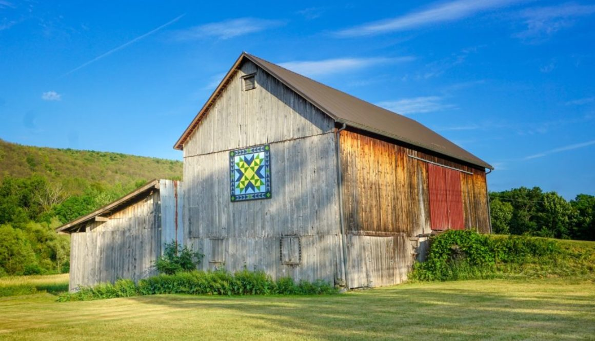 Barn Quilts in Upstate New York - Featured Image