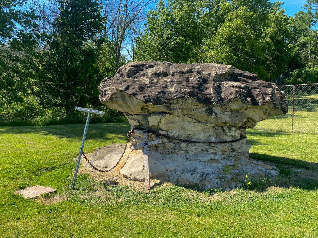 Devil's Rock Near Batavia
